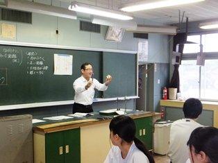 2015年05月::浜松市立開成中学校