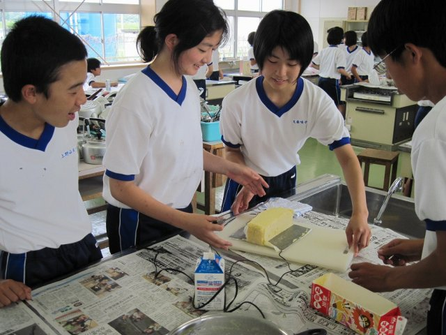 技術の授業::浜松市立清竜中学校