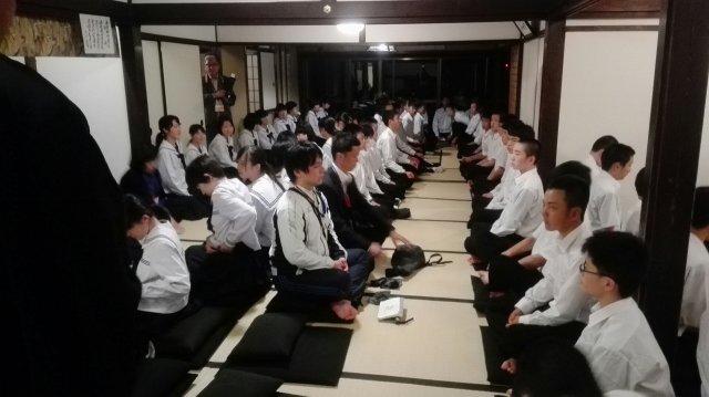 4月27日 修学旅行2日目 建仁寺での活動::庄内学園
