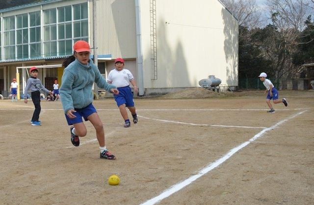 体育科「ハンドベースボール」::...