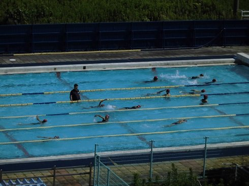 4年生水泳